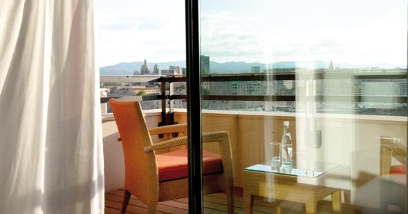 room with terrace Newhotel of Marseille