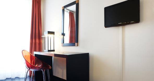 Illustration modern room Newhotel Saint Charles Marseille