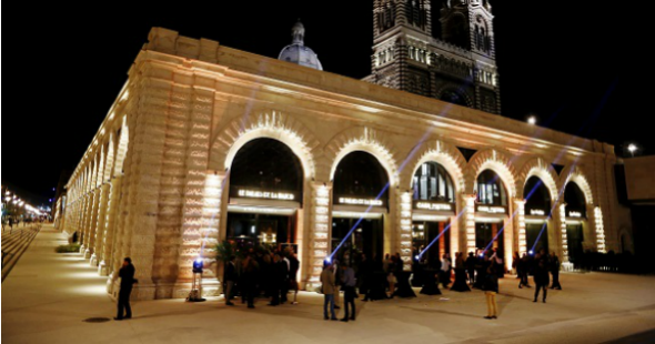 Les Halles de la Major à Marseille
